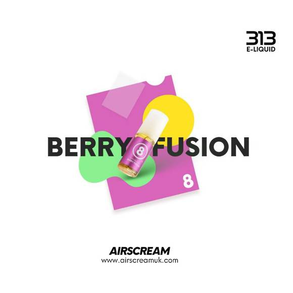 Berry Fusion 10ml 4.0% - Airscream 313 E-LIQUID