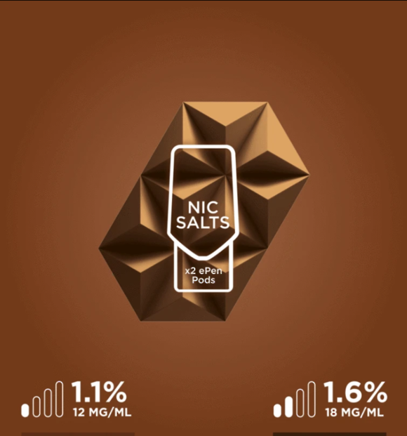 Vuse (Vype) ePen  Blend Tobacco - Two Pods
