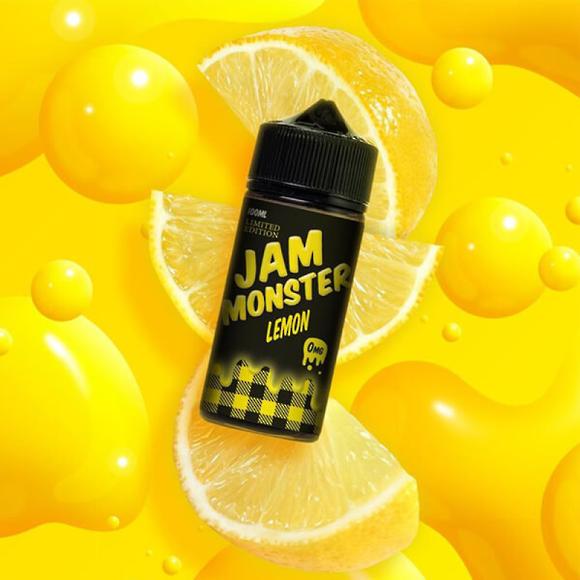 Lemon - Jam Monster 100ml e-liquid