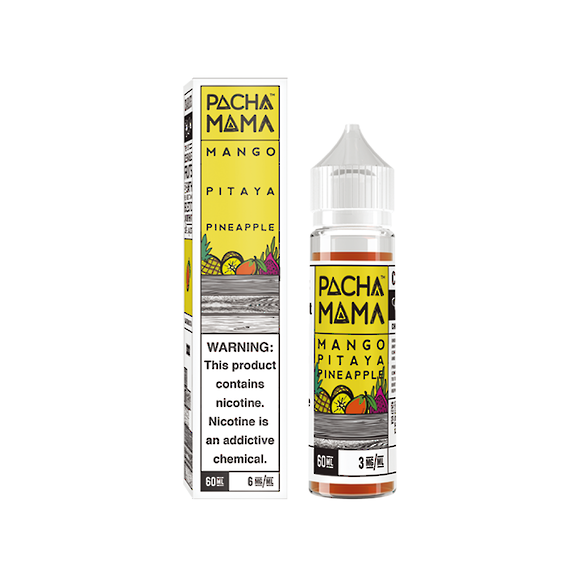 Charlie's Chalk Dust Pachamama  Mango Pitaya Pineapple 60ml