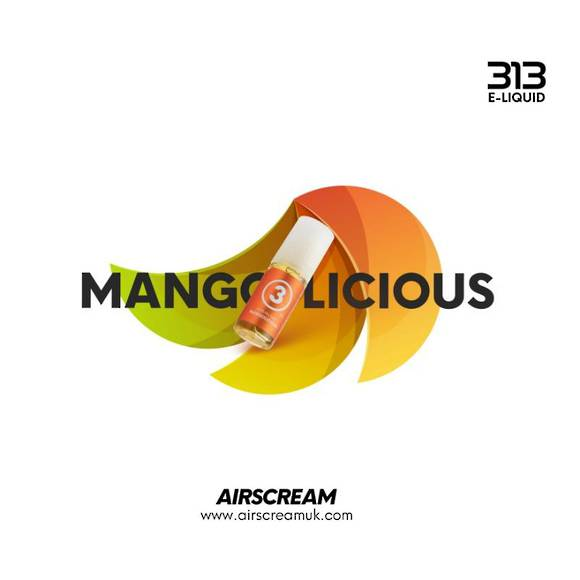 Mangolicious 10ml 4.0% - Airscream 313 E-LIQUID