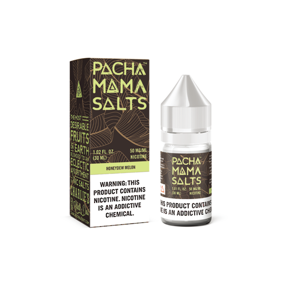 Charlie's Chalk Dust Pachamama Salts Honeydew Melon 30ml