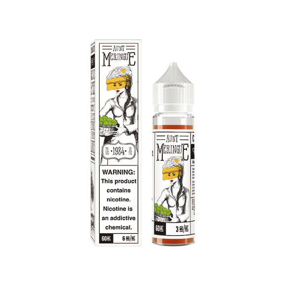 Charlie's Chalk Dust Line Aunt Meringue 60ml