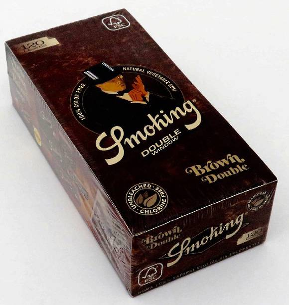 Smoking Rolling Paper Brown Box