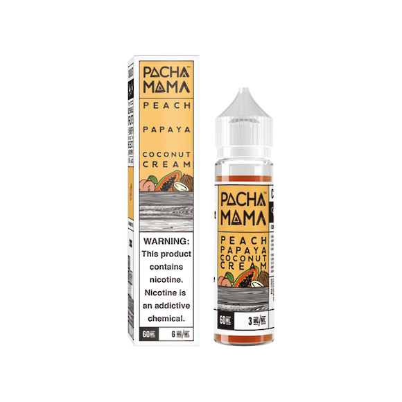 Charlie's Chalk Dust Pachamama Peach Papaya Coconut Cream 60ml