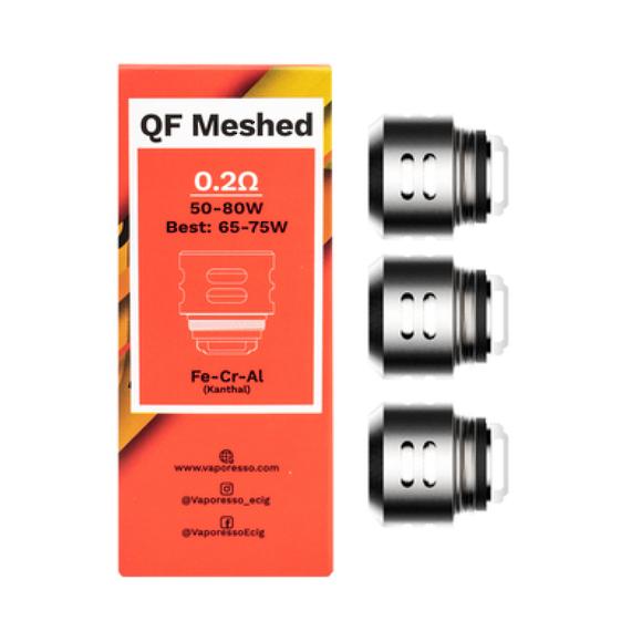 Vaporesso QF Meshed Coils 0.2 ohm