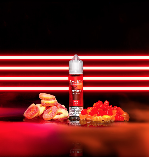 SAUCY ORIGINALS – SECRET GUMMY 60ml
