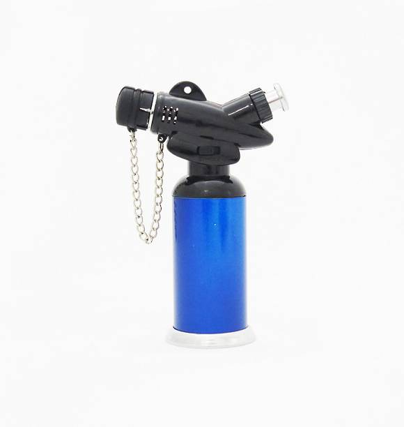 Stainless Steel Torch Lighter Blue