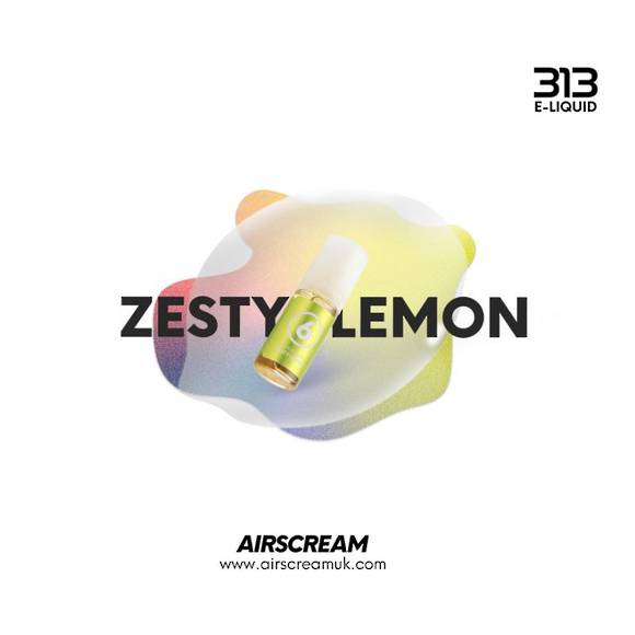 Zesty Lemon 10ml 4.0% - Airscream 313 E-LIQUID