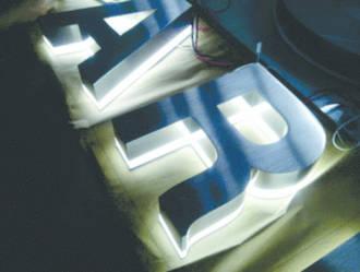 Back Lit LED Letters & Logos