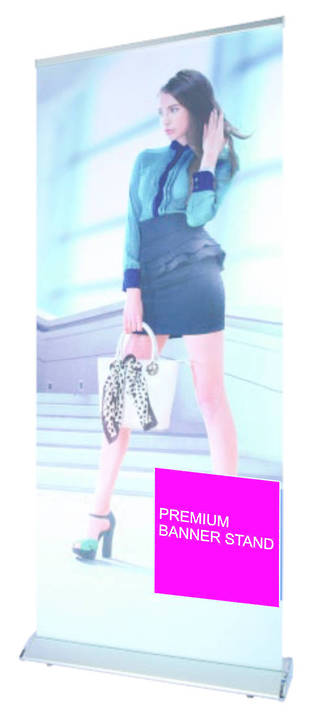 Premium Roll Screen (Now in black & sliver)