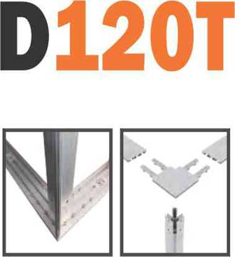 D120T SEG Frame-less Extrusion System