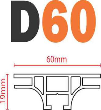 D60 SEG Frame-less Extrusion System