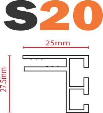 S20 SEG Frame-less Extrusion System