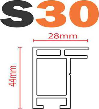 S30 SEG Frame-less Extrusion System