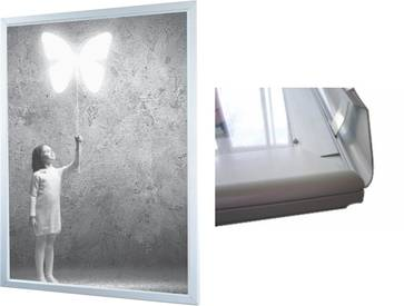 Slim Line indoor LED frame