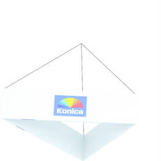 Fabric Hanging Signs Triangle