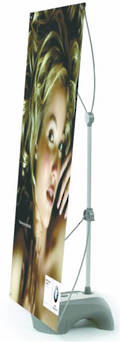 OUTDOOR BANNER STAND Y TANK