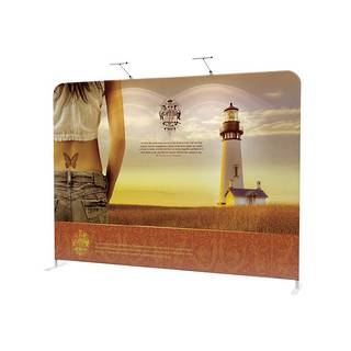 Straight Textile Pop Up Display 10ft (2930mm)