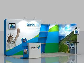 3x6 Exhibition Booth Solution 026