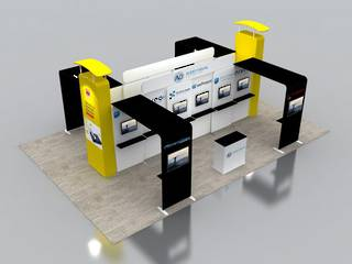 6X9 Exhibition Booth Solution 006
