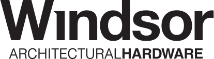 Windsor-Logo Architectural-Hardware BLACK-555