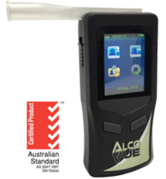 ALCOVue  BAC Breath Alcohol Analyzer