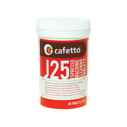 Cafetto J25 Cleaning Tablets (40 tabs)