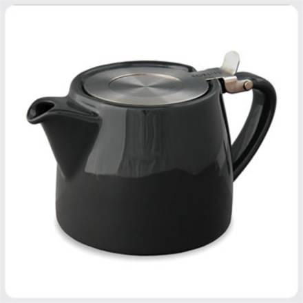 Stump Teapot - Black