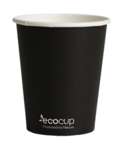 Black EcoCup 400ml