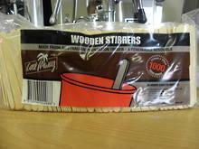Wooden Stirrers - 1000