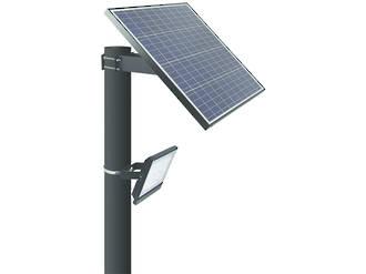 LEDSOLAR-FL30 & LEDSOLAR-FL30-PIR - 30W Flood Light Solar Kit