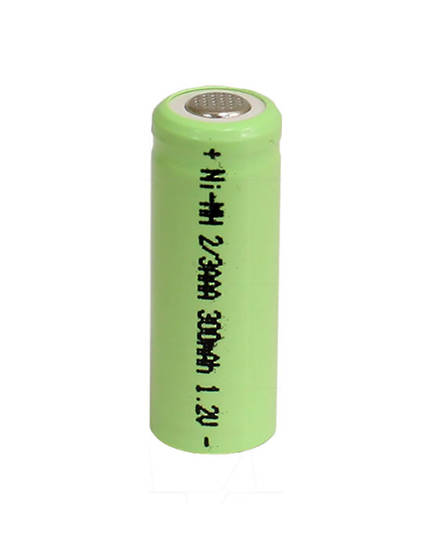 2/3 AAA Size Ni-MH Rechargeable Battery