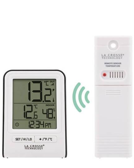 308-1409WT La Crosse Indoor Outdoor Thermometer