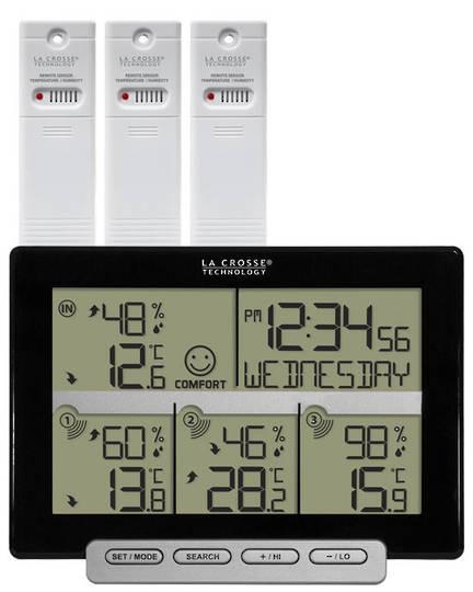 308-1412-3TXV2 La Crosse Temperature Humidity with 3 Sensors