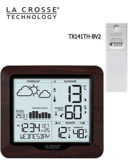 308-1417BL La Crosse Forecast Weather Station with Backlight