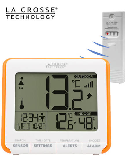 308-179OR La Crosse Thermometer with Indoor Humidity