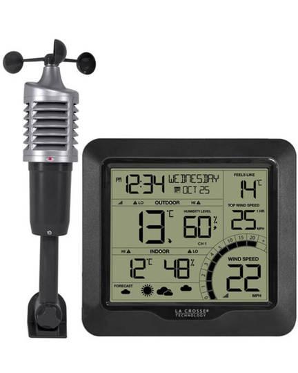 327-1417BW La Crosse Wind Speed Weather Station