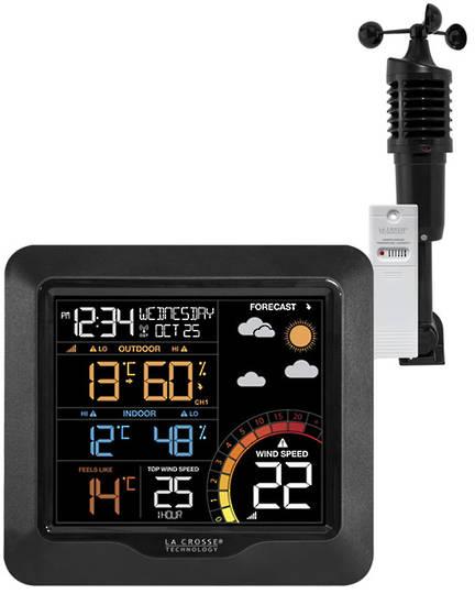 327-1417V2 La Crosse Prof Wind Speed Colour Station