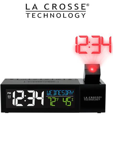616-1950 Pop-Up Bar Projection Alarm Clock