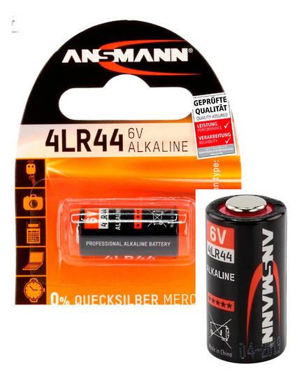 ANSMANN 4LR44 28A A544 L1325 6V Alkaline Battery