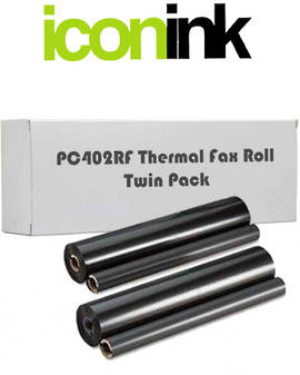 Brother PC-402RF Fax Roll Twin Pack