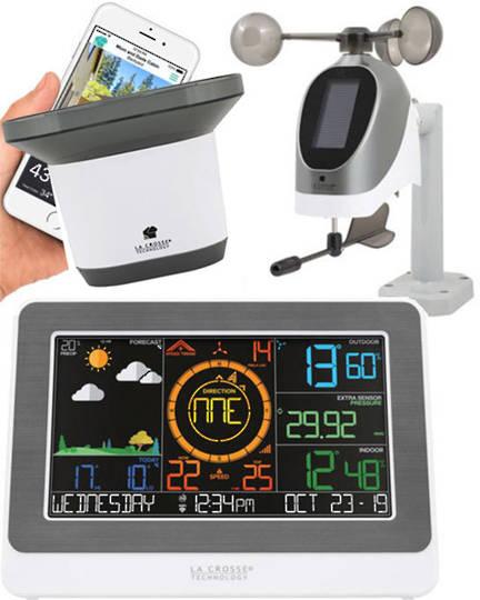 C79790 La Crosse Professional WIFI Colour Weather Station with Rain Sensor