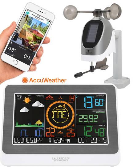 C79790 La Crosse Professional WIFI Colour Weather Station