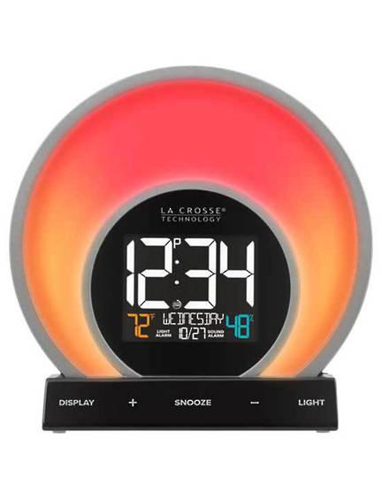 C80994 La Crosse Soluna Light Alarm Clock