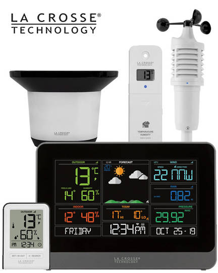 C83100 Complete WIFI AccuWeather Colour Weather Station