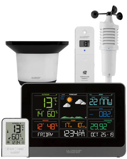 C83100 La Crosse WIFI Station with AccuWeather Forecast