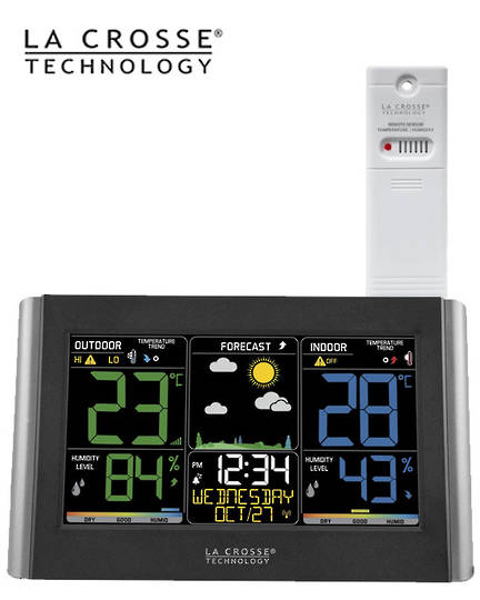 C85845 La Crosse Wireless Colour Weather Station