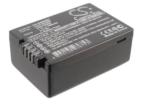 PANASONIC DMW-BMB9, DMW-BMB9E Compatible Battery