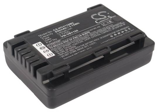 PANASONIC VW-VBY100 Compatible Battery